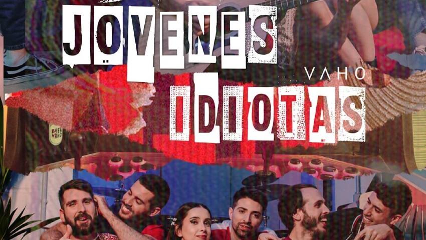 Vaho publica nuevo single llamado 'Jóvenes Idiotas' el cual es un adelanto de su nuevo álbum que saldrá en otoño.