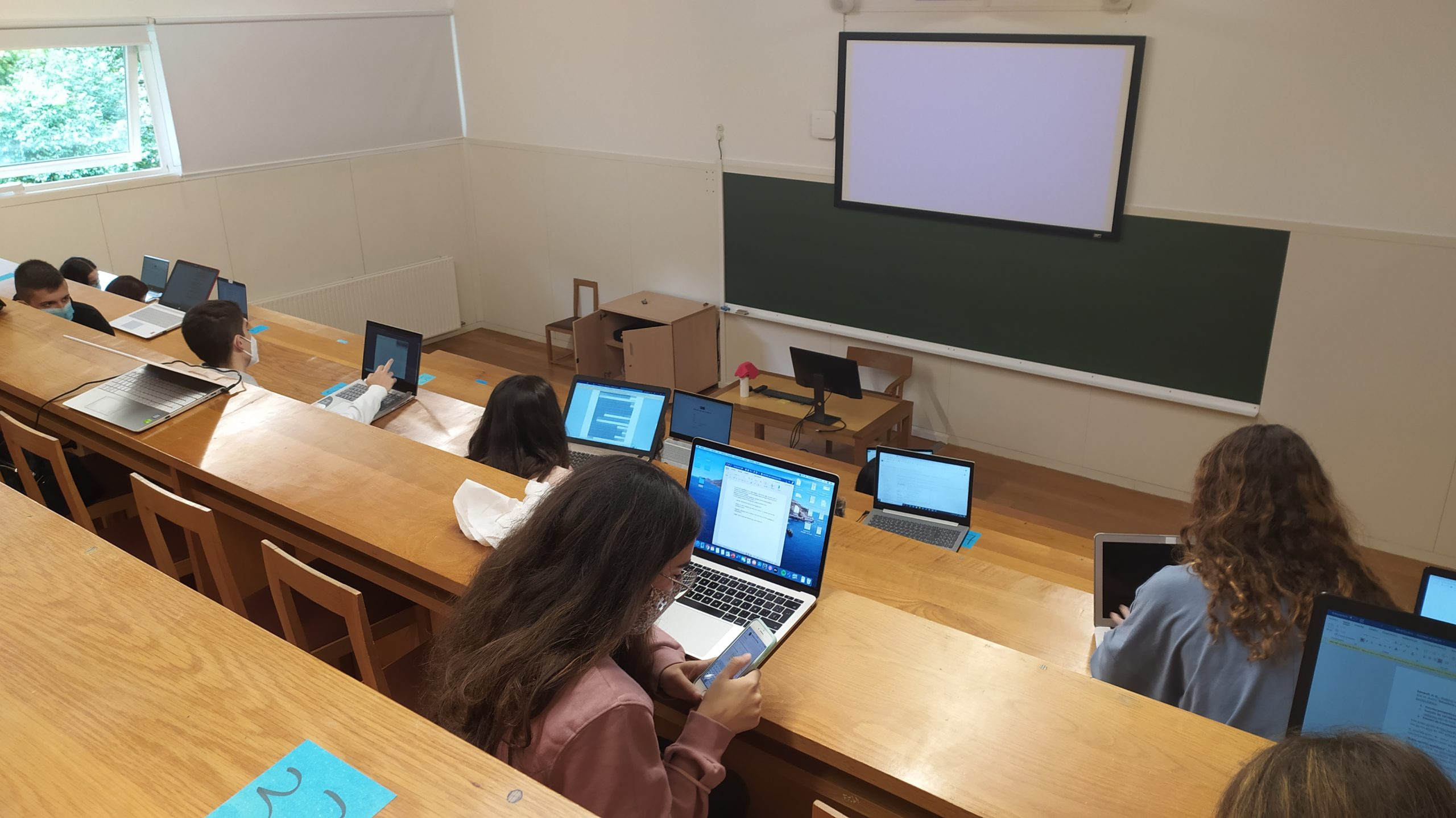 aula universidad