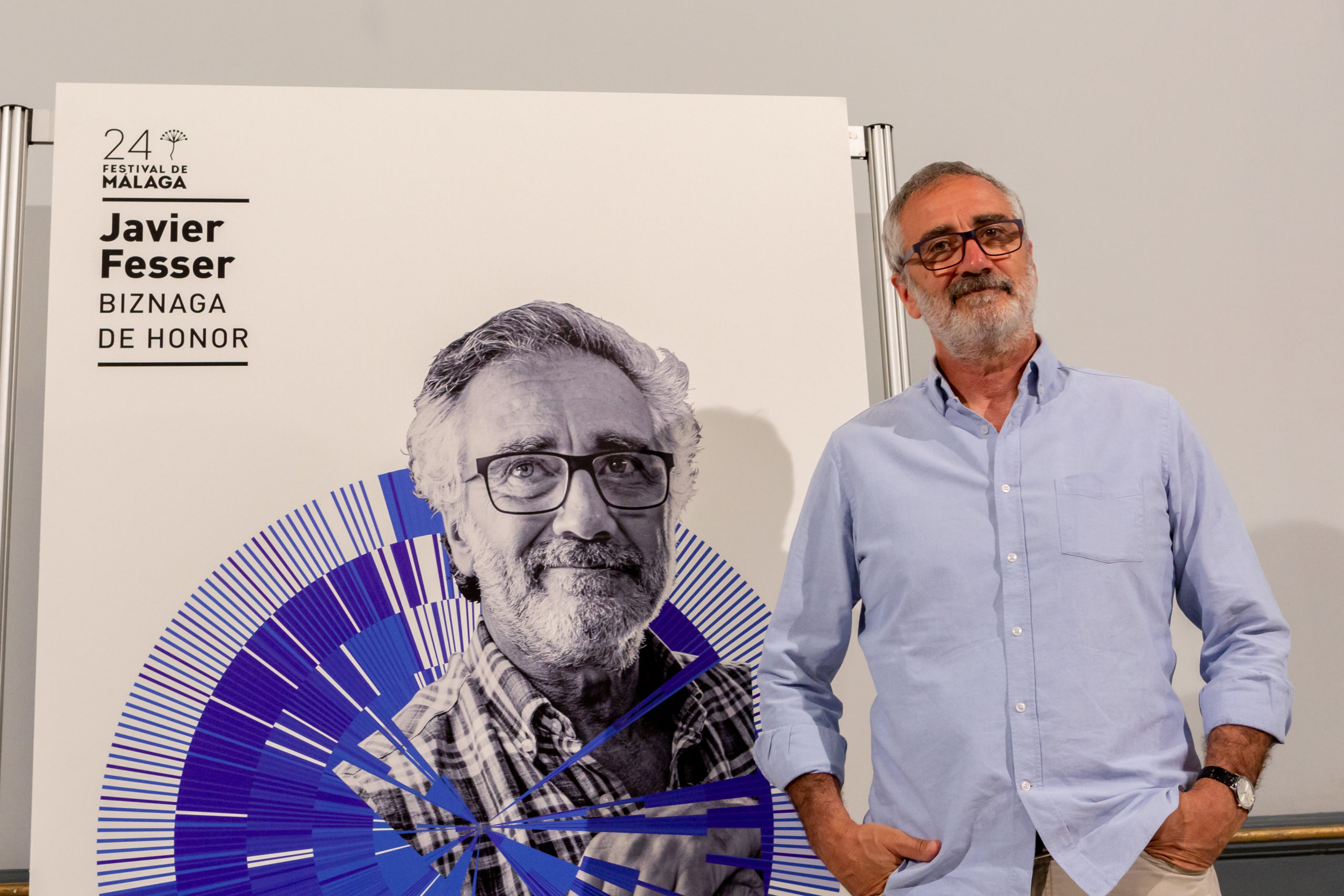 Javier Fesser recibe la Biznaga de Honor en el Festival de Málaga