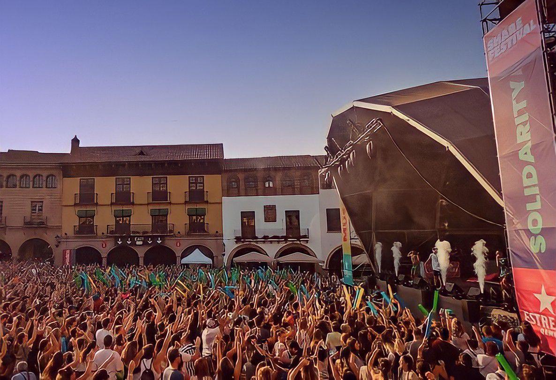 El público bailando en el Share Festival de Barcelona/ Fuente: @sharefestbcn (Instagram)