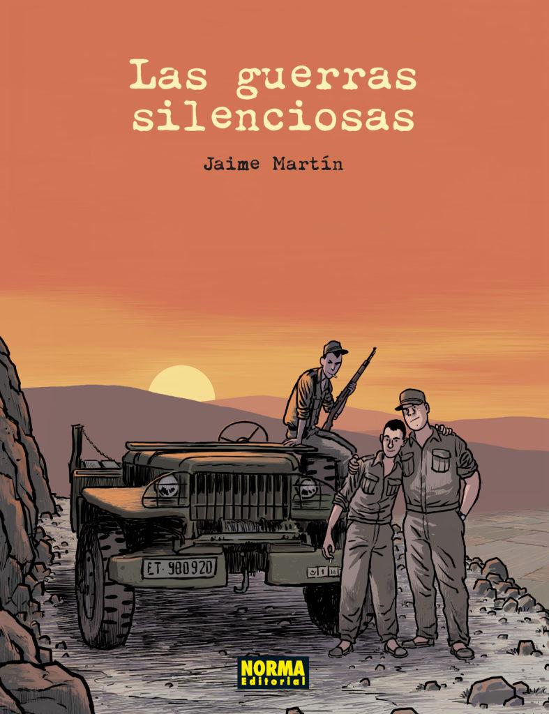 """Portada de """"Las guerras silenciosas"""""""